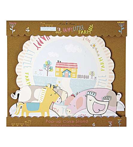 MERI MERI Happy Little Farm cake stand