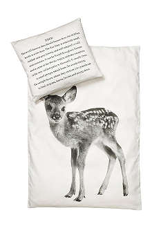 BY NORD Deer bed linen for single bed