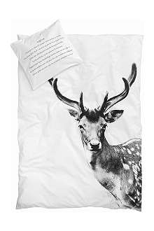 BY NORD Deer bed linen for double bed