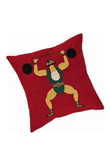 JOULES Strongman cushion