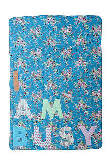 RICE I am busy floral quilt