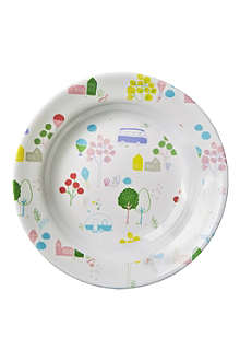 RICE Roadtrip-print melamine bowl