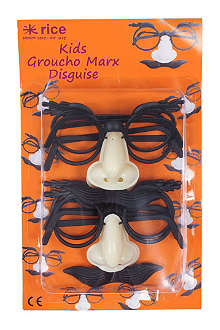 RICE Pack of four Groucho Marx disguise for kids