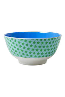 RICE Star-print melamine bowl