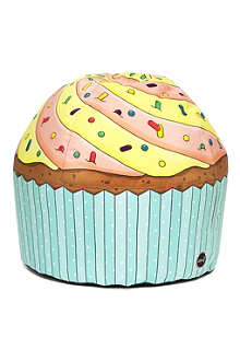 WOOUF! Lemon cupcake beanbag