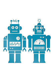 FERM LIVING Robot wall stickers