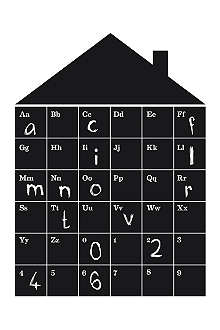 FERM LIVING ABC House blackboard wall sticker