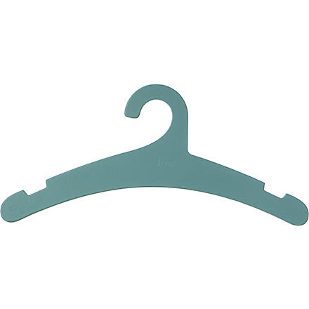 FERM LIVING Set of four cardboard hangers blue