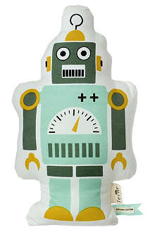 FERM LIVING Mr. Small Robot cushion