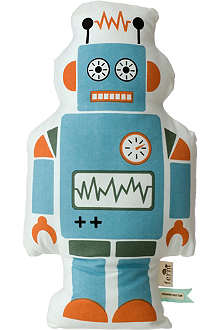 FERM LIVING Mr. Large Robot cushion
