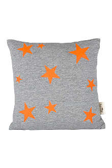 FERM LIVING Star cushion neon