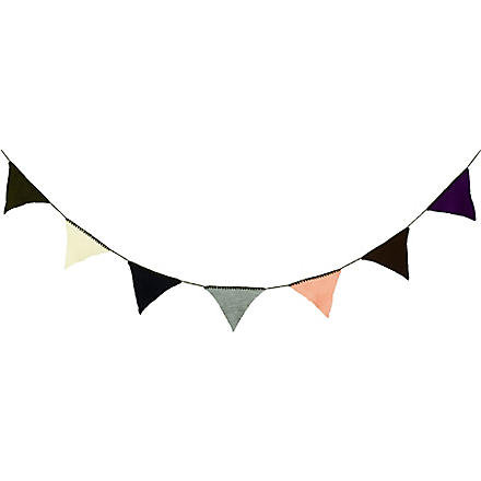 FERM LIVING Happy Flags bunting olive
