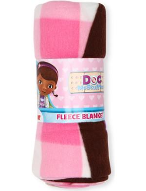 CHARACTER WORLD Disney Doc Mcstuffins fleece blanket