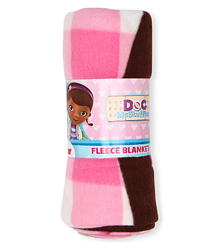 CHARACTER WORLD Disney Doc Mcstuffins fleece blanket