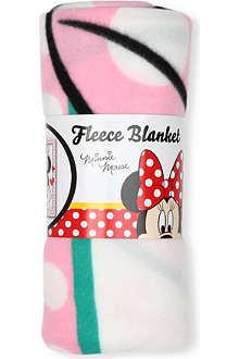 CHARACTER WORLD Minnie Mouse fleece blanket