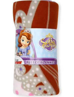CHARACTER WORLD Disney Sofia fleece blanket