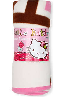 CHARACTER WORLD Hello Kitty fleece blanket