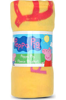 CHARACTER WORLD Peppa Pig fleece blanket