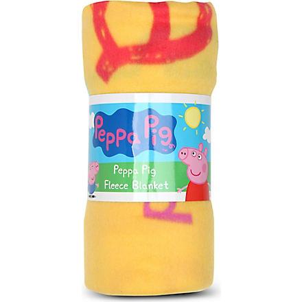 CHARACTER WORLD Peppa Pig fleece blanket