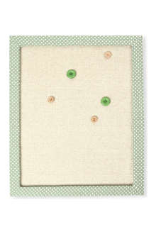 GISELA GRAHAM Polka dot noticeboard