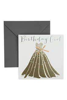 BELLY BUTTON DESIGNS Birthday Girl birthday card