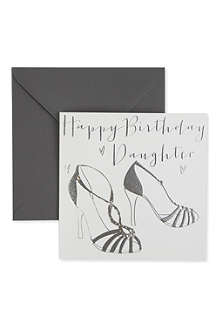 BELLY BUTTON DESIGNS Happy Birthday Daughter birthday card