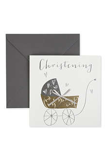 BELLY BUTTON DESIGNS Christening card