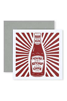 URBAN GRAPHIC 'Ketchup on my Chips' card