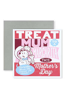 URBAN GRAPHIC 'Treat Mum to a Margarita' card