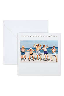 SUSAN O'HANLON Happy Birthday Superhero card