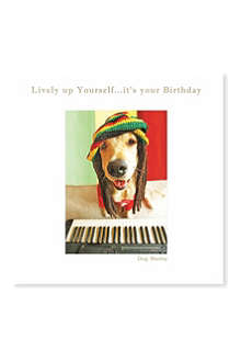 SUSAN O'HANLON Dog Marley birthday card