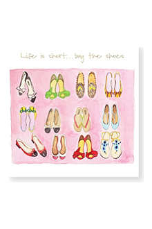 SUSAN O'HANLON Life is Short, Buy the Shoes card
