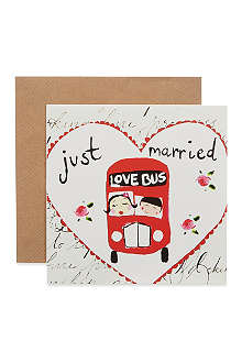SOOSHICHACHA Just married love bus card