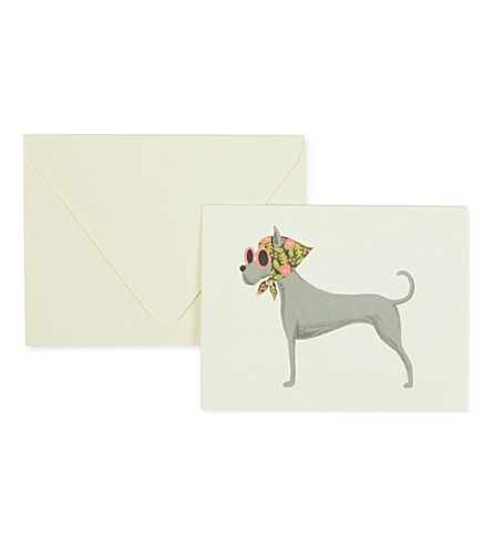 RIFLE PAPER Great Dane card