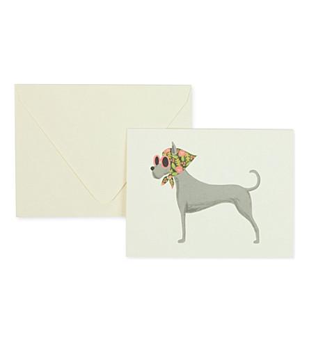 RIFLE PAPER Great Dane card