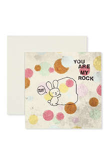 LOVE FROM LEMONADE You Are My Rock Valentine's Day card