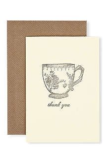 KATIE LEAMON Teacup birthday card