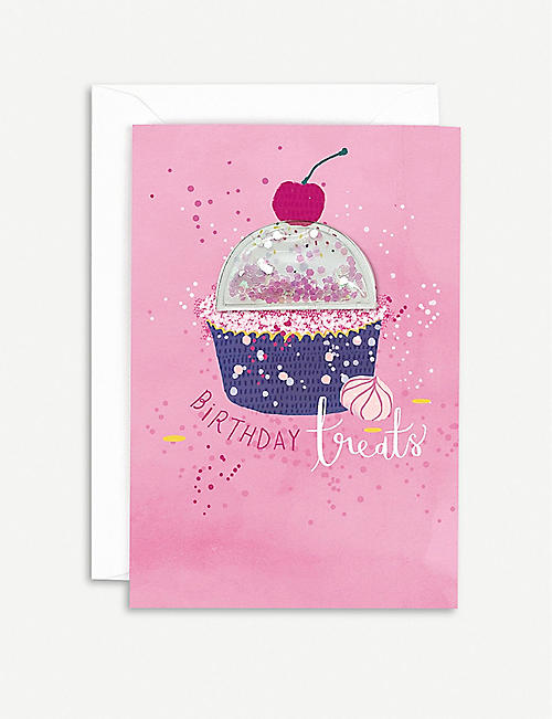HOTCH POTCH Cupcake birthday card