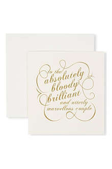 CAROLINE GARDNER Absolutely brilliant couple card