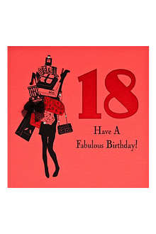 FIVE DOLLAR SHAKE 18th Birthday card