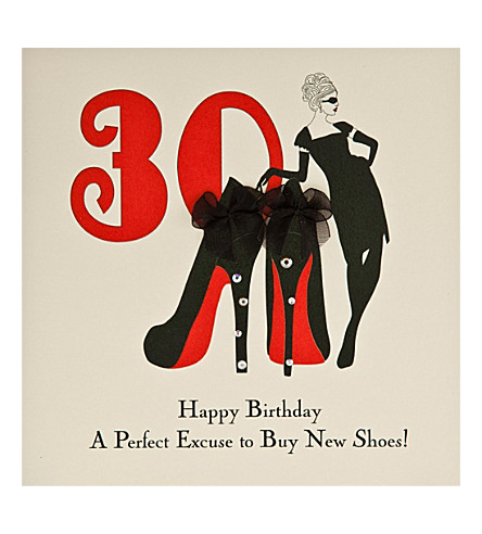 FIVE DOLLAR SHAKE 30th Birthday card