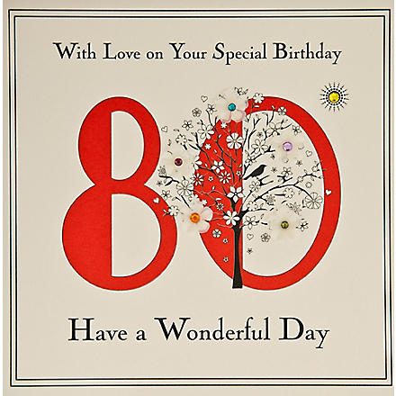 FIVE DOLLAR SHAKE 80th Birthday card