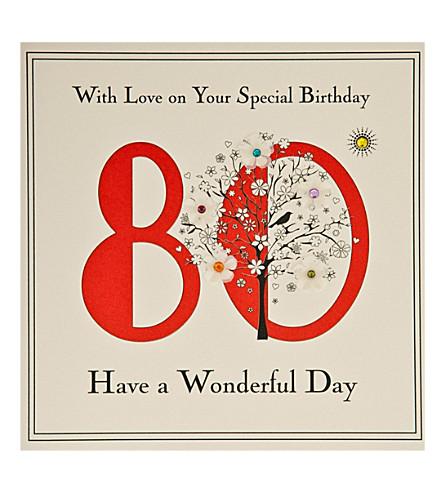 FIVE DOLLAR SHAKE 80th Birthday card