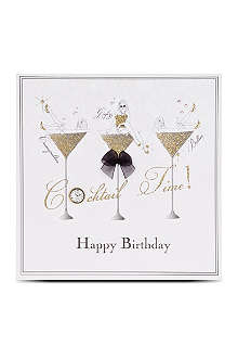 FIVE DOLLAR SHAKE Cocktail time happy birthday card