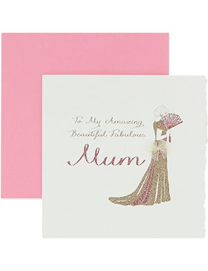 FIVE DOLLAR SHAKE Amazing Beautiful Fabulous Mum Mothers day card