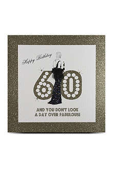FIVE DOLLAR SHAKE 60th Birthday card