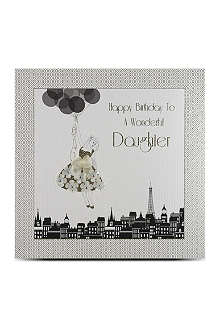 FIVE DOLLAR SHAKE Happy birthday daughter large card