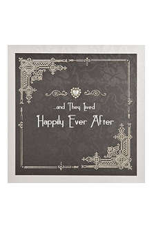 FIVE DOLLAR SHAKE And they lived happily ever after card