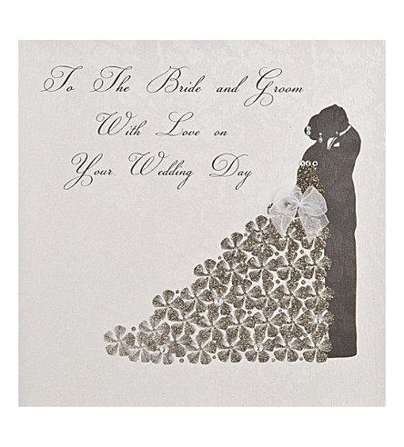 FIVE DOLLAR SHAKE Wedding Day card