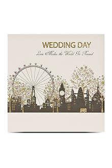 FIVE DOLLAR SHAKE London wedding day greetings card